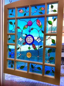 Queen Anne Window finished
